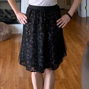 Express Lace skirt